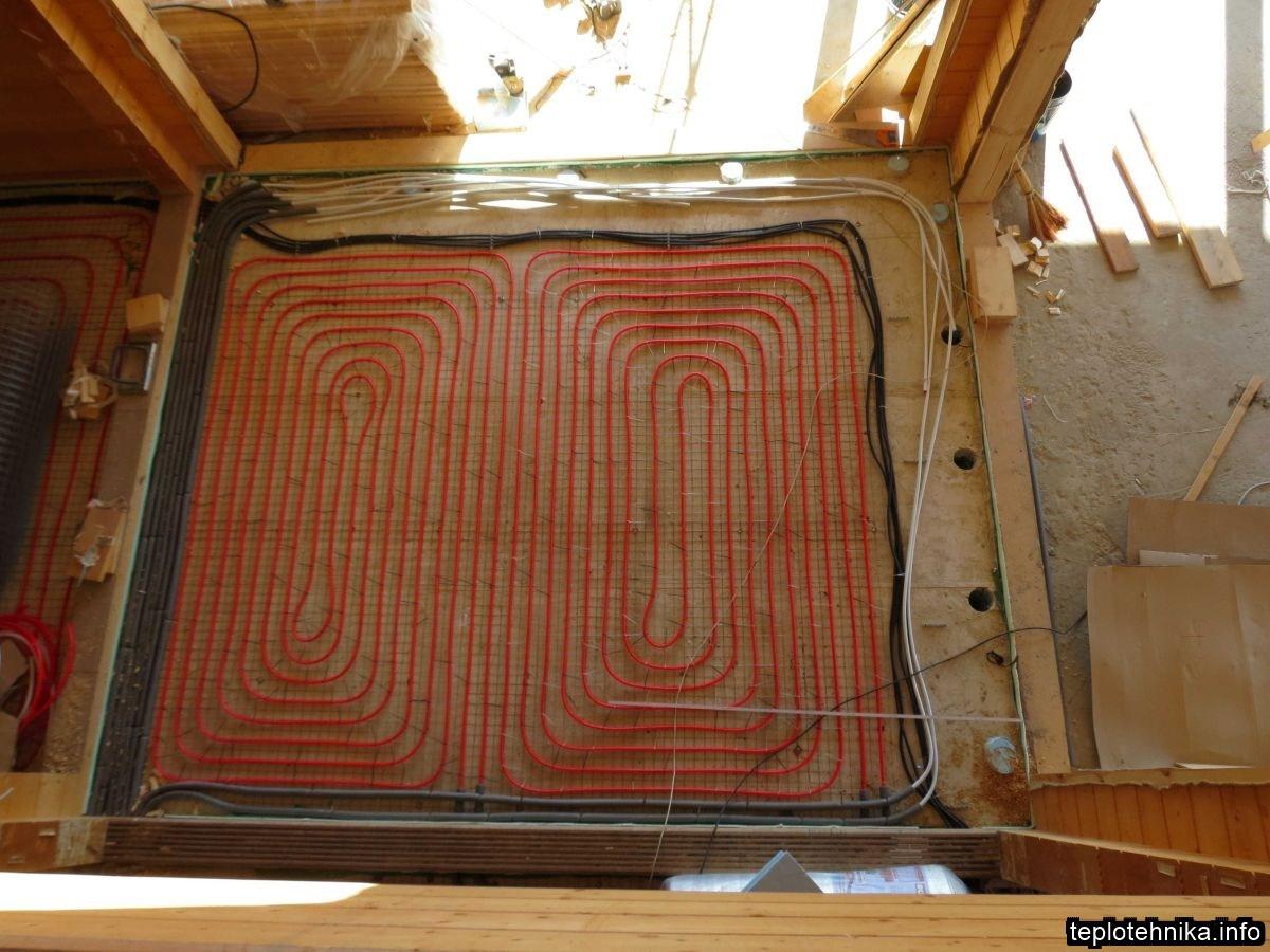 подготовка периметра под установку конвекторов с функцией подключения вентканалов