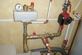монтаж и установка котлов отопления