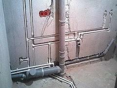 штробление пола под водопроводные и газовые трубы