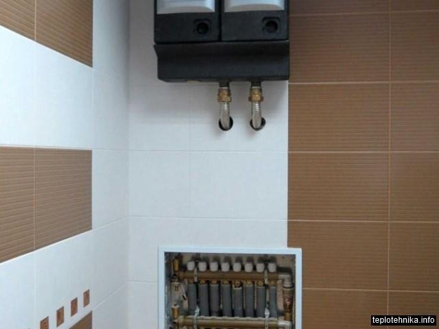 встроенный коллекторный шкаф
