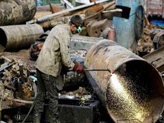 установка металлических труб